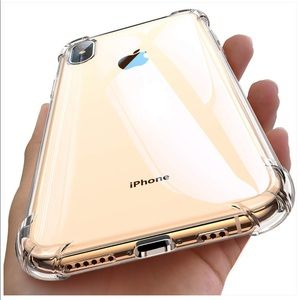 iPhone Xs Max Case Clear with 4 Corners Protection